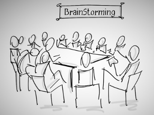 Brainstorming sketch downloaded from https://www.flickr.com/photos/luigimengato/15531955577. Image credit: Luigi Mengato
